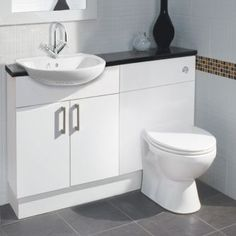 Moods linear fitted bathroom furniture great for small for Small fitted bathrooms