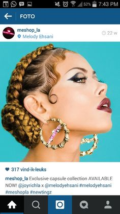 Chola got baby hair on fleek! #doorknockers #braids #chola #babyhair