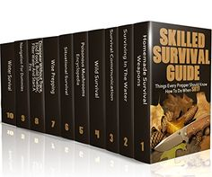 Free Kindle Book - Skilled Survival Guide: Things Every Prepper Should Know How To Do When SHTF: (Self-Defense, Survival Gear) Survival Books, Survival Weapons, Survival Prepping, Survival Gear, Winter Survival, Free Kindle Books, Shtf, Self Defense, Outdoors