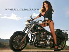 Dana Hamm on Route 66  WWW.ICONICBEAUTYIMAGES.COM