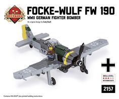 Brickmania - Focke-Wulf Fw 190 F-8, $190.00 (http://www.brickmania.com/focke-wulf-fw-190-f-8/)