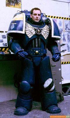 Warhammer 40k Ultramarine cosplay.