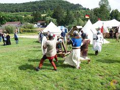 Mittelalter Spektakel bei der 1300 Jahrfeier in Euerdorf