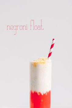 A boozy float to celebrate Negroni Week, this Negroni Float is perfect to sip on all summer long!