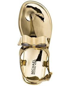 MICHAEL Michael Kors Kayden Jelly Thong Sandals - Shoes - Macy's