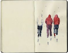 Snow by Wil Freeborn, via Flickr