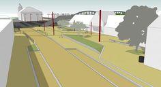 """Pôle Gare d'Hazebrouck: des travaux jusque fin mai 2015. Les travaux du parvis de la gare futur """"Carrefour de l'Europe"""" sont entrés dans leur deuxième phase."""