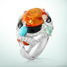 Van Cleef Misr ring, Palais de la chance collection