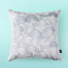 Simple Geometric throw pillow 18 in Creative Mountain cushions for couch