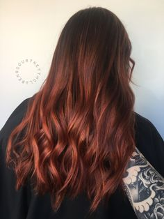 17 ideas hair ombre ginger dyes for 2019 Copper Balayage, Red Hair Color, Brown Hair Colors, Ombre Hair, Light Blond, Beautiful Red Hair, Ginger Hair, Ginger Ombre, Hair Highlights
