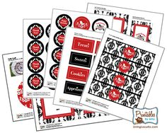 Free printables~ I'm loving this sight - there are organizational printables as well!