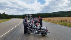Pit stop on the daily ride...2015 Sturgis 75th Anniversary
