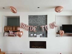 These rose gold Bride to be balloons are the perfect statement decoration for your hen party. Hen Party Balloons, Bride To Be Balloons, Classy Hen Party, Hen Ideas, Hen Party Decorations, Team Bride, Backdrops, Rose Gold, Ceiling Lights