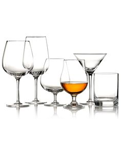 Mikasa Drinkware, BarMasteru0027s Sets Of 4 Collection   Stemware Cocktail    Dining Entertaining   Macyu0027s