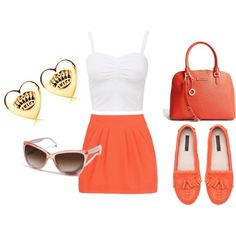 21+Bright+and+Beautiful+Ways+to+Wear+Orange+This+Summer