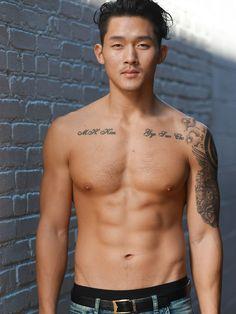 Justin Kim - KoreanAmerican Cute Guys, Handsome, Celebrities, Hot, Sexy, Swimwear, People, Image, Beauty