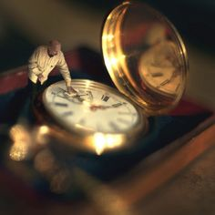 Interview: Surreal World's made by 14-Year-Old Photographer Zev Hoover #autumn #pocketwatch #Sewcratic