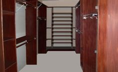 A Custom Closet Designed For The Diyer In You