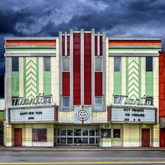 Art Deco Theater Panama City Fl unusualbuildings #artdecobuildings #cinemaarchitecture #cinematheatre #theater #artdecostil #artdecohome #artdecofurniture #artnouveau