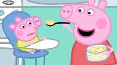 Watching Peppa Pig Baby Alexander in iview