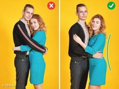 Correct pose for couple photography Best Photo Poses, Poses For Pictures, Picture Poses, Photo Tips, Couple Photography Poses, Photography Tips, Portrait Photography, Shooting Couple, Couple Posing