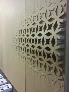 Custom faded-texture wall tiles. Awesome.       #3dprint #3dprinting #future #technology #tech #innovate