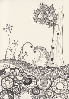 Can anyone recommend a good Zentangle book for beginners?? I mean a detailed step by step book a 5 year old can understand?? Would love to do this one day!!