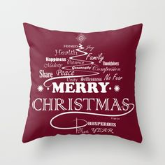 The Wishing Christmas Tree Throw Pillow by weivy Throw Pillow Cases, Pillow Covers, Throw Pillows, Xmas, Christmas Tree, Face Towel, Presents For Friends, My Themes, Website Themes