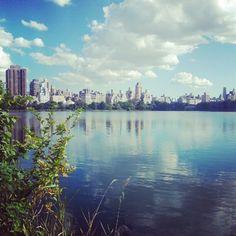 "@perryinthahouse's photo: ""#centralpark #manhattan #nyc #cloud #lago"""