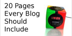 Learn which pages to include in your blog! We look at 404 pages, Product pages, Sitemap, Comparison pages, Subscription pages, Squeeze pages & more!