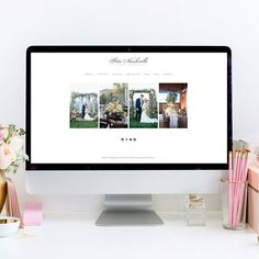 theeditorstouch.com | Squarespace Website Design by Heather Sharpe of The Editor's Touch | Website Designer for Wedding Professionals