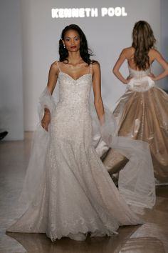 Wedding Dresses Designed By Project Runway Star: Cadenza wedding dress by Project Runway star Austin Scarlett for spring 2007