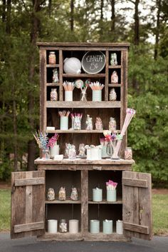 Incorporating a candy bar into a wedding reception has become a fun and playful dessert alternative that offers a bit...