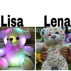 Lisa or Lena? Subject: Teddy Bear My Choice: Lisa