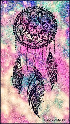 © 2016 Dreamcatcher Galaxy Wallpaper Source by New Wallpaper Iphone, Trendy Wallpaper, Pretty Wallpapers, Galaxy Wallpaper, Wallpaper Ideas, Bts Wallpaper, Wallpaper Backgrounds, Mandala Drawing, Mandala Art