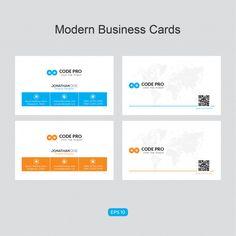 Elegant corporate card Free Vector Make Business Cards, Business Card Psd, Modern Business Cards, Business Card Design, Templates Printable Free, Logo Templates, Badge Design, Shop Logo, Vintage Greeting Cards