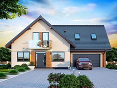 Modern Bungalow House, Bungalow Exterior, Bungalow Renovation, Simple House Design, House Front Design, Modern House Design, House Roof, Facade House, Philippines House Design