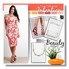 """Floral Dress 4/5"" by sans-moderation ❤ liked on Polyvore featuring Seed Design, Dot & Bo and zumaboutique"