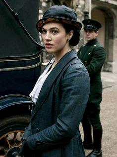 "Lady Sybil in ""Downton Abbey"""