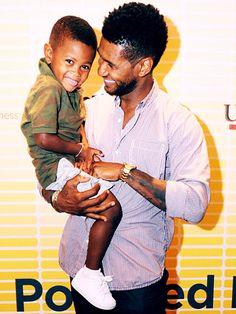 Usher and son Usher V
