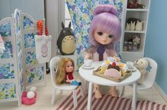 tiny bjd room, Coffee time with friends!