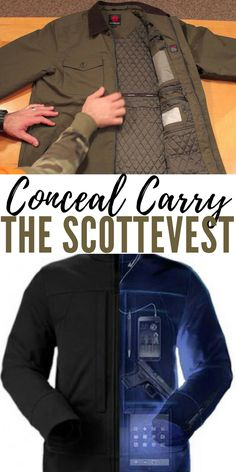 Conceal Carry the ScotteVest - Some inventions are made for preppers and the creators don't even know it. This product showed up on the hit television show Shark Tank but I never knew about it until this article.