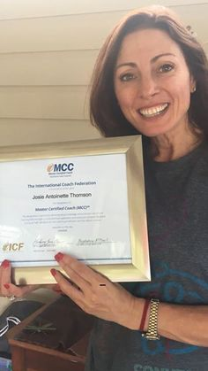 I did it again!!! Im proud to have received confirmation of my Master Certified Coach credential from the International Coach Federation. Ive proudly been a member of the ICF since commencing formal coaching in 2001 and received MCC level accreditation in 2005. A good effort if I must say so myself! Go me! Jx