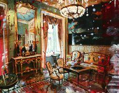 GAUCI, Gerard | Galerie de Bellefeuille Nostalgia Art, Galerie D'art, Illustration Art, Illustrations, Inspiring Art, Painting, Inspiration, Image, Contemporary Art