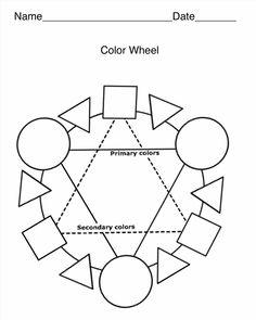 Color Wheel Worksheet & Poster TeachersPayTeachers