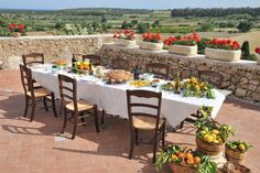 Sicilian table setting