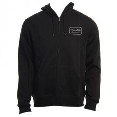 Brixton Clothing Mens Sweatshirt Grade Black