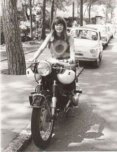 Image result for francoise hardy motorcycle