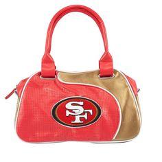 NFL San Francisco 49ers Perf-ect Bowler Purse