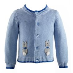 Clothing & Accessories Cardigans Bunny Intarsia Cardigan